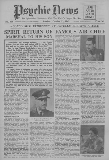 Spirit Return of Famous Air Chief Marshall To His Son