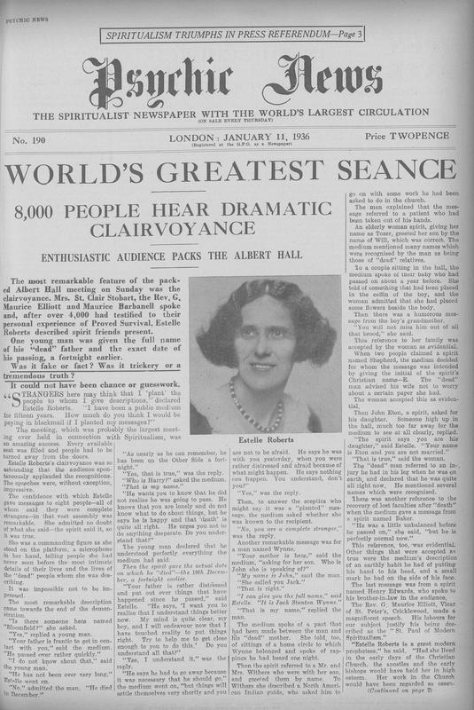 World's Greatest Seance