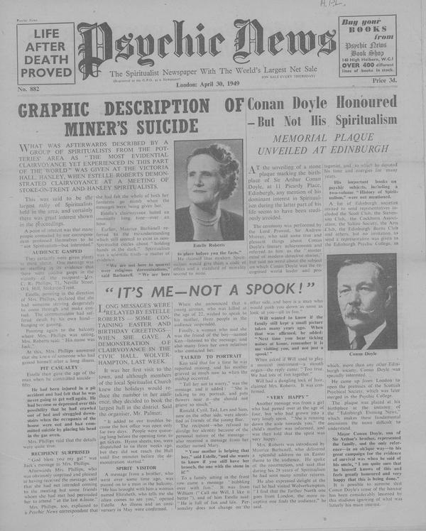 Graphic Description of Miner's Suicide