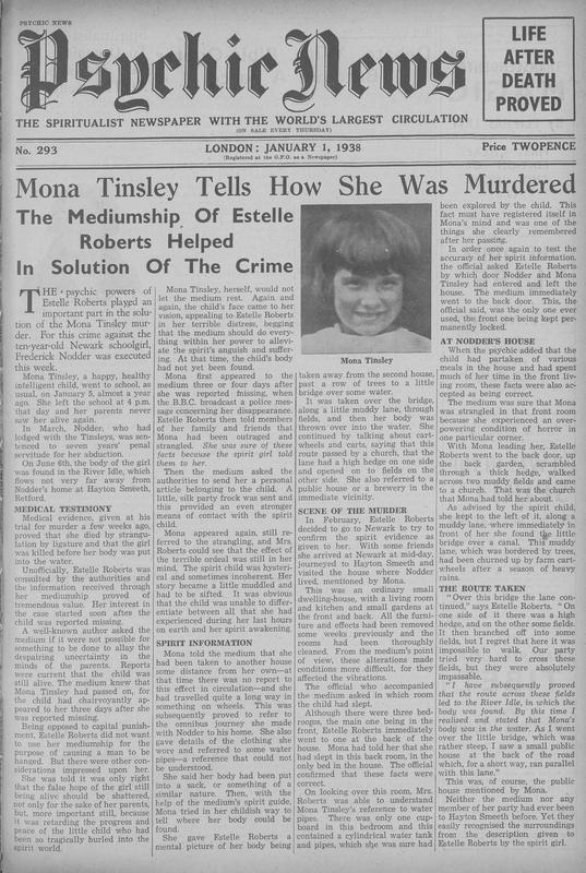 Mona Tinsley Tells How She Was Murdered
