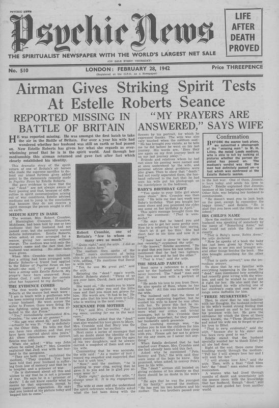 Airman Gives Striking Spirit Tests